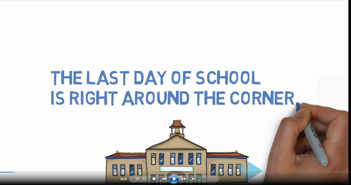 The last day of school is....